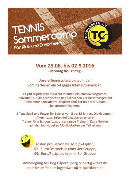 TCQ Sommercamp 2016