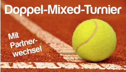 Doppel-Mixed-Turnier mit Partnerwechsel
