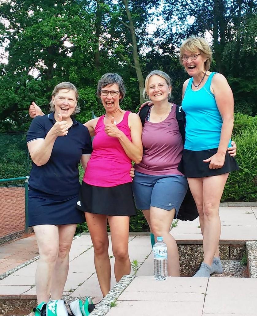 Sieg der Damen 40 in Ellerau